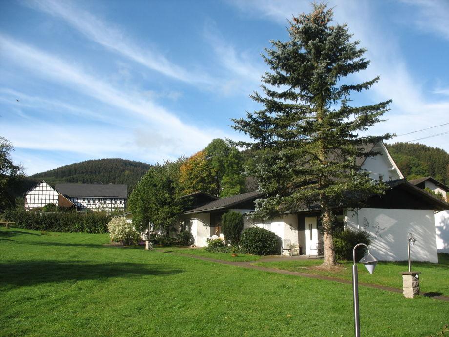 Ferienhaus mit Wiese