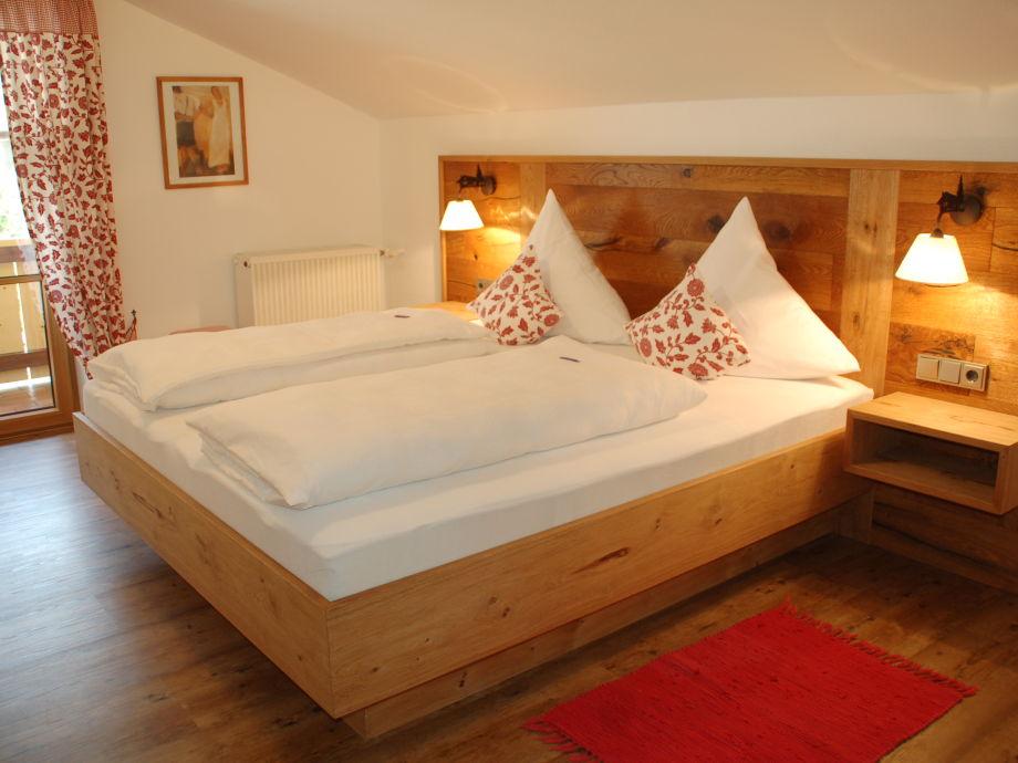 Ferienhaus Wille - FW Amelie neues Eiche Schlafzimmer