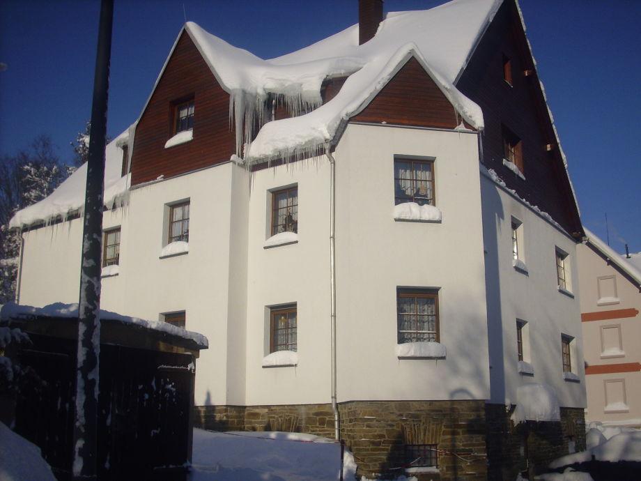 Unser Haus im Winter, FW ganz unten