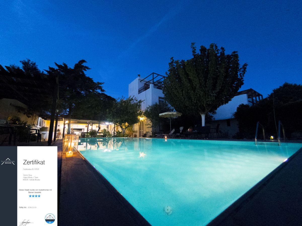 Jannis ferienhaus mit pool rhodos frau martina becker lips for Ferienhaus mit pool