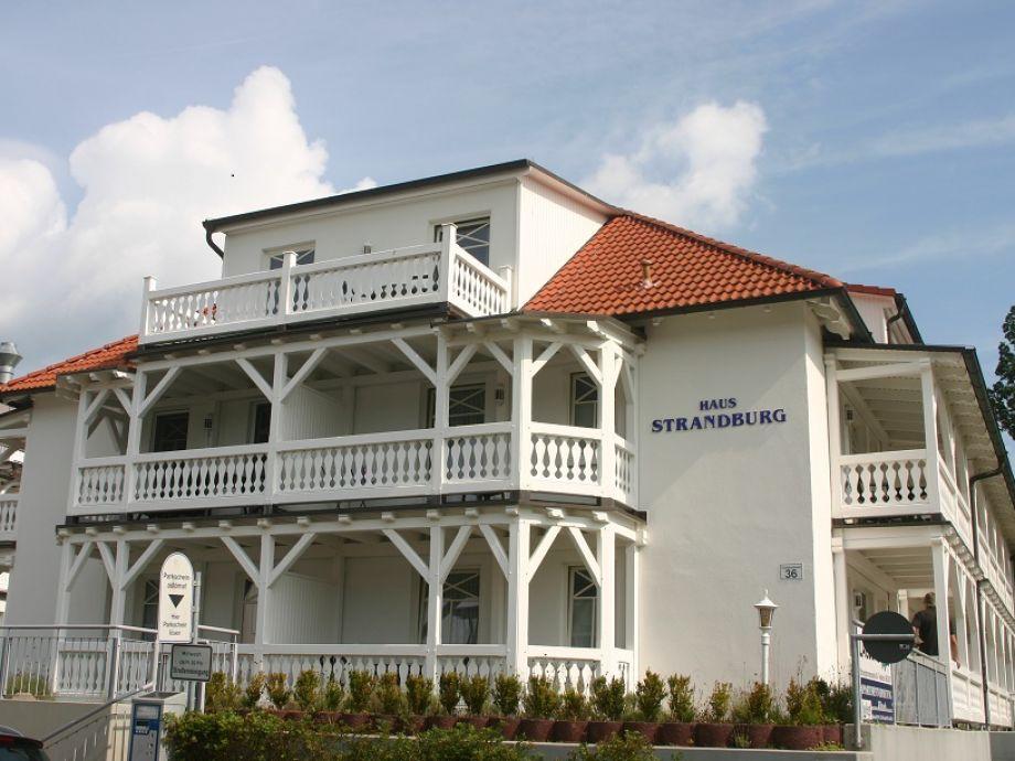 Haus Strandburg in Binz