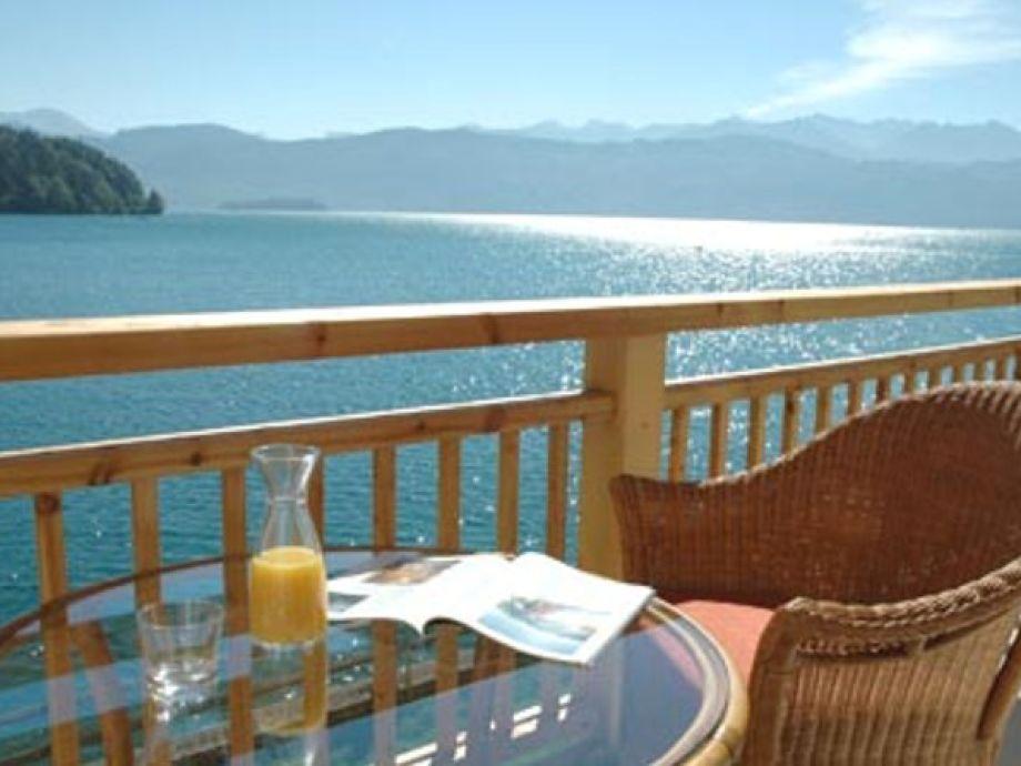 Das Seehaus - Seeblick vom Balkon