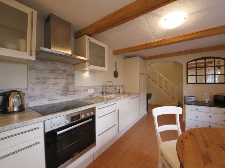 Ferienhaus Bootshaus Küche