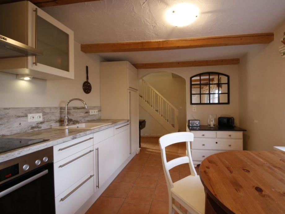 Ferienhaus Bootshaus - Küche