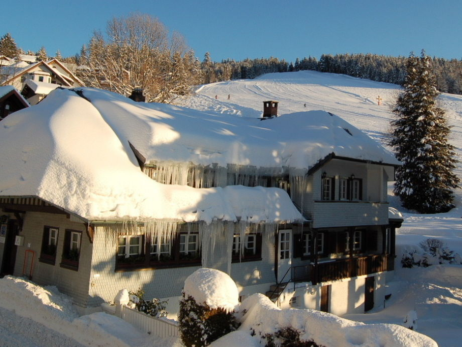 Landhaus Jaeger in winter