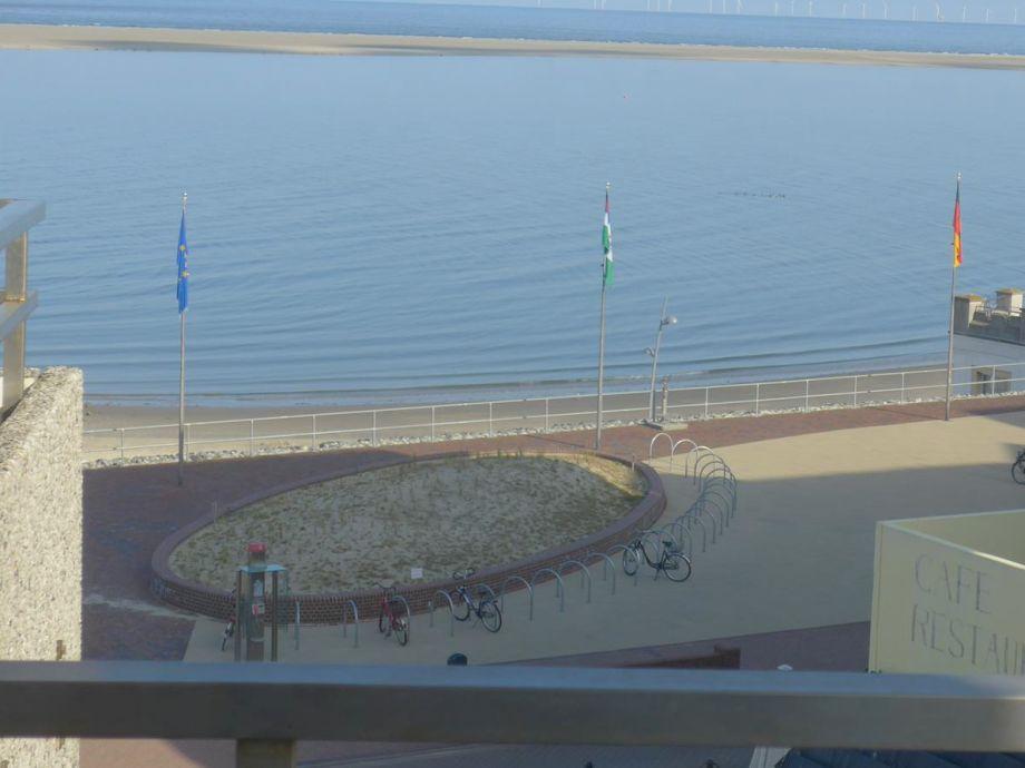 Balkon mit Meerblick (Richtung West)
