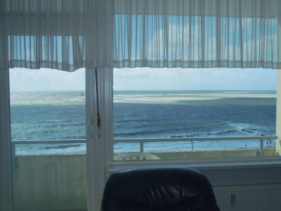 Toller Meerblick (Sicht aus Wohnzimmerfenster)