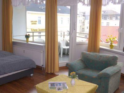 74 II - FeWo mit Meerblick - Nordbalkon - Haus Seeblick