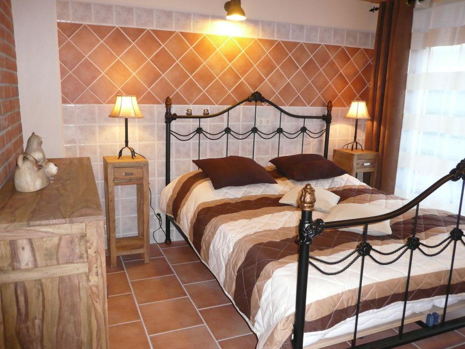 PROVENCE - Schlafzimmer / Doppelbett