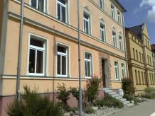 Ferienwohnung 'MOHNBLUME' mit Terrasse 'STADTAPPARTMENTHAUS' mit 2 Schlafzimmer