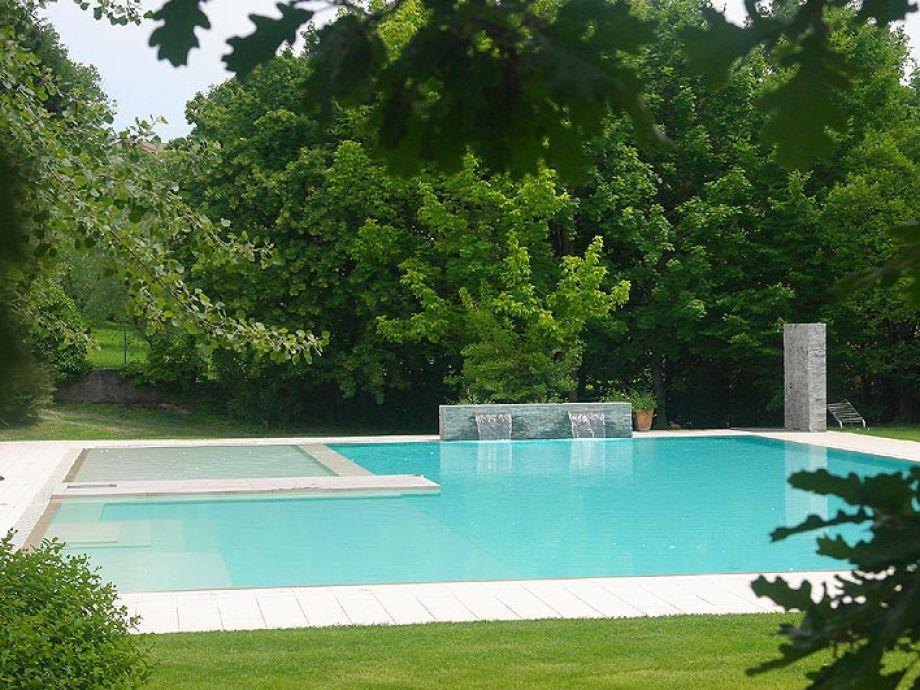 Ferienwohnung residence rio selva 65m gardasee for Garten pool zum einlassen