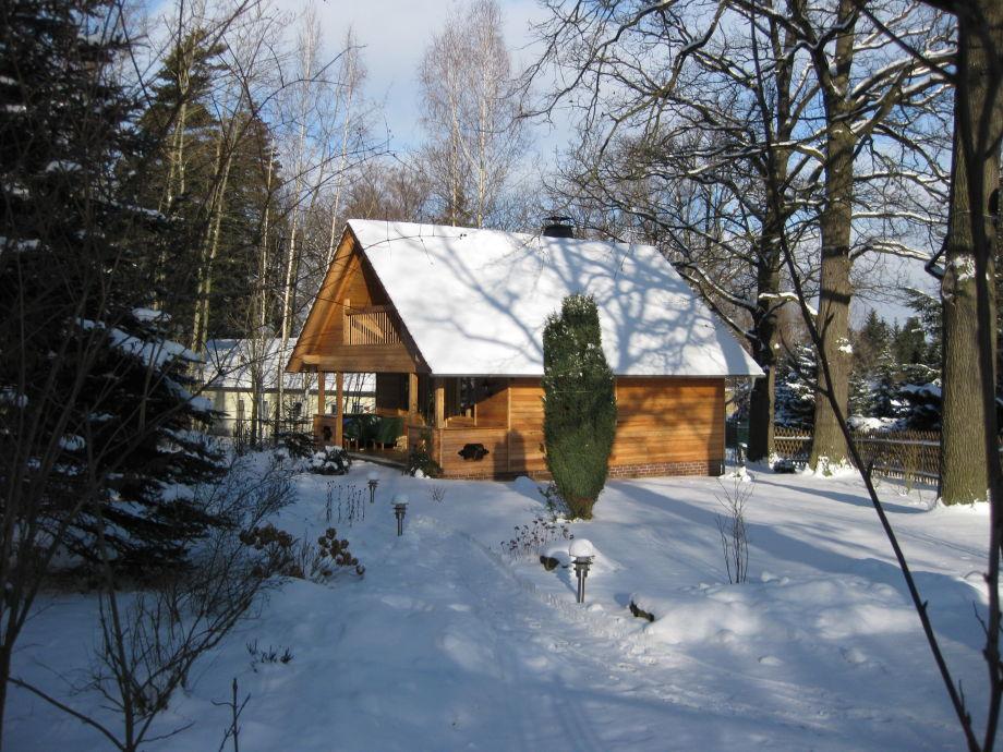 Die Hauserhütte im Winter