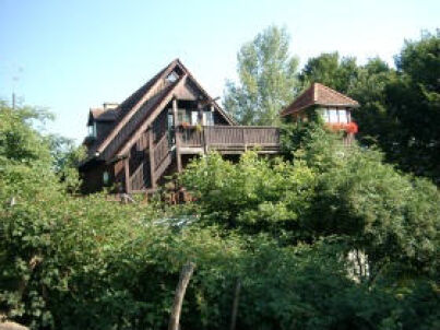 Der Höller- Dachwohnung mit Turm