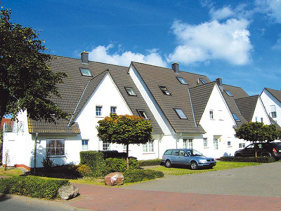 Außenansicht - Ferienwohnung Haus Kranich 2, Wohnung 10