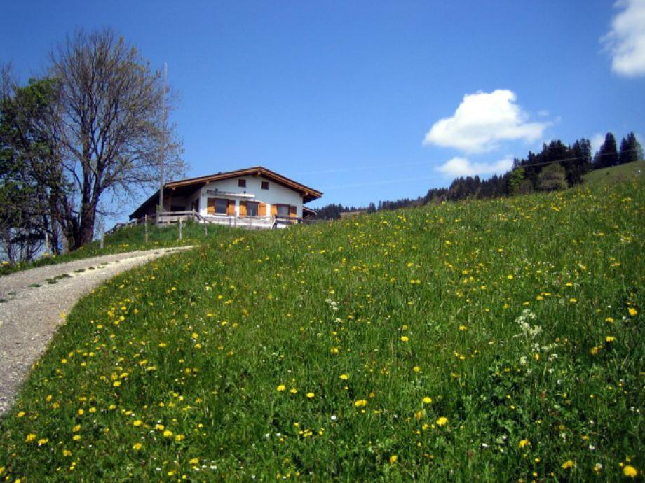 Der Weg zur Thaler Hütte