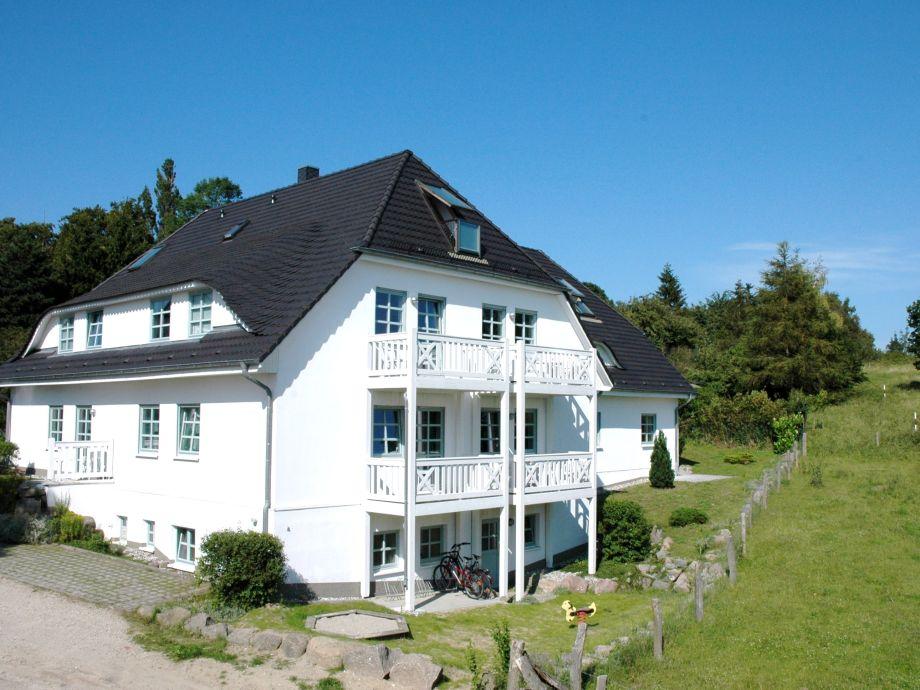 Das ruhig gelegene Ferienhaus mit Blick auf die See