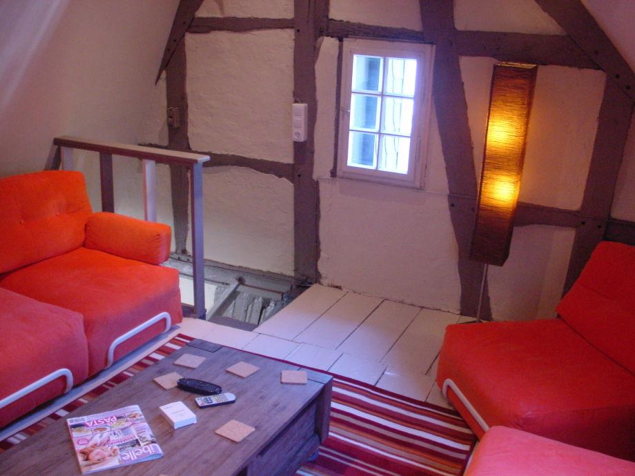 Cozy Wohnzimmer Dachgeschoss