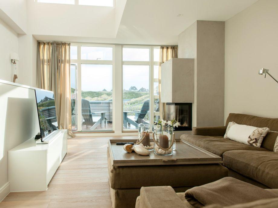 Wohnzimmer mit Sonnendeck