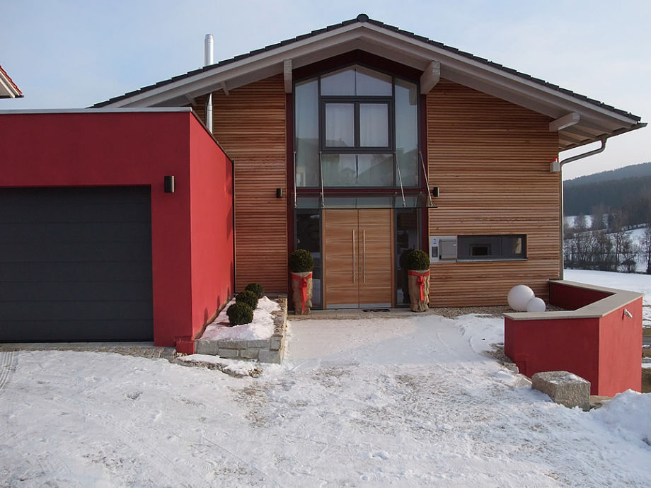 Hauseingang Lodge Feldäcker