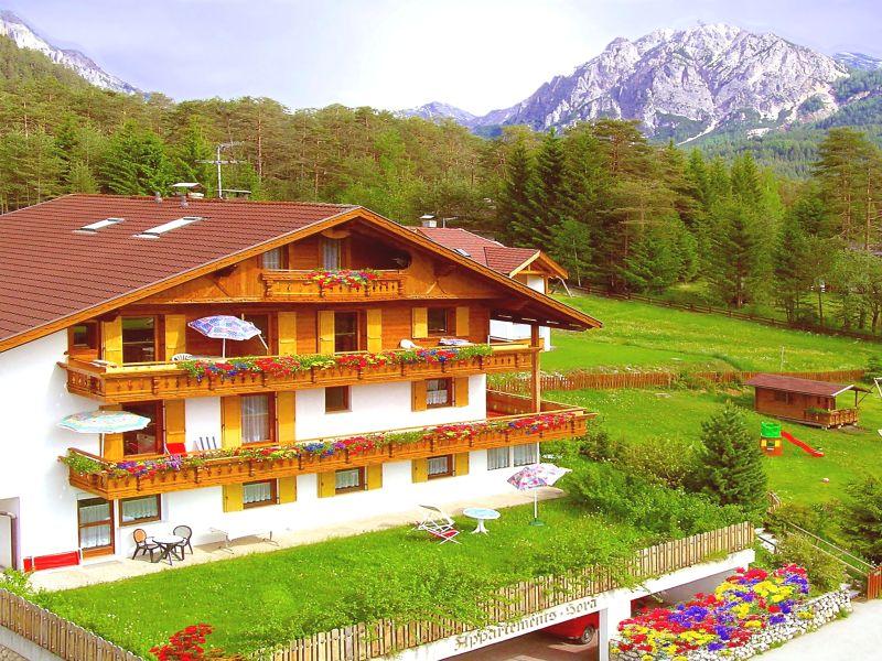 Ferienwohnung B in der Residence Sora