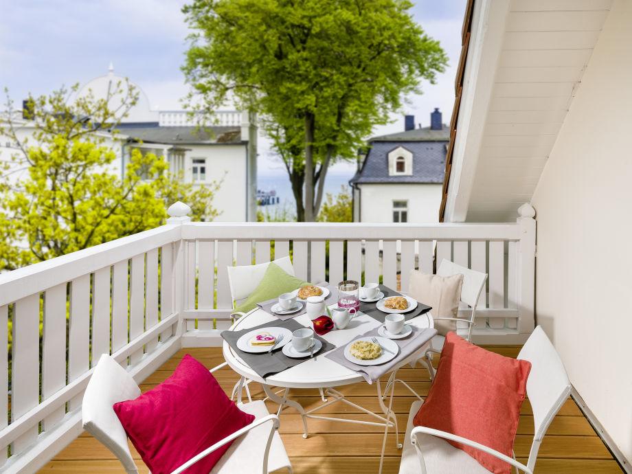 Die wunderschöne, gemütliche Terrasse