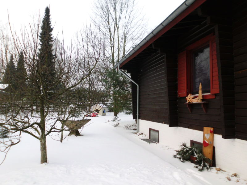 """Ferienhaus Heideblockhaus """"Am Wald"""""""