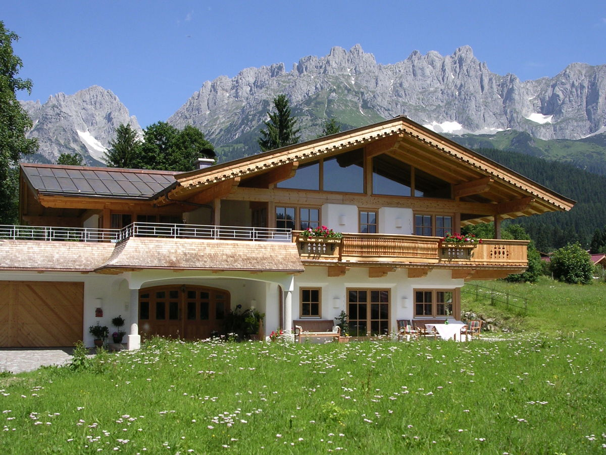 Landhaus luxuswohnung going am wilden kaiser firma foidl for Modernes wellnesshotel tirol
