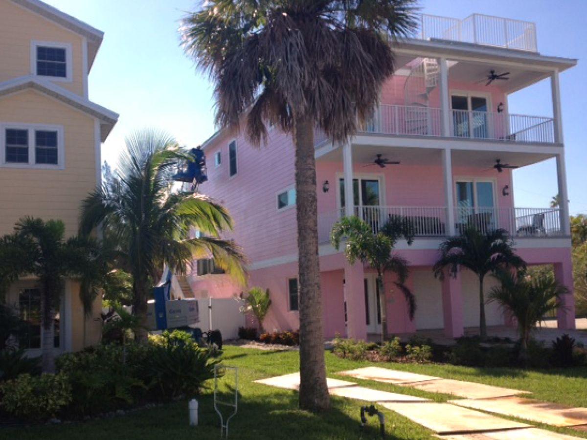 Ferienhaus Pink Palm, Zentrale Golfküste Florida Anna Maria Island ...