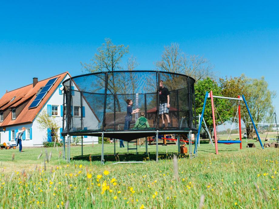 Ferienhaus mit großem Spielplatz