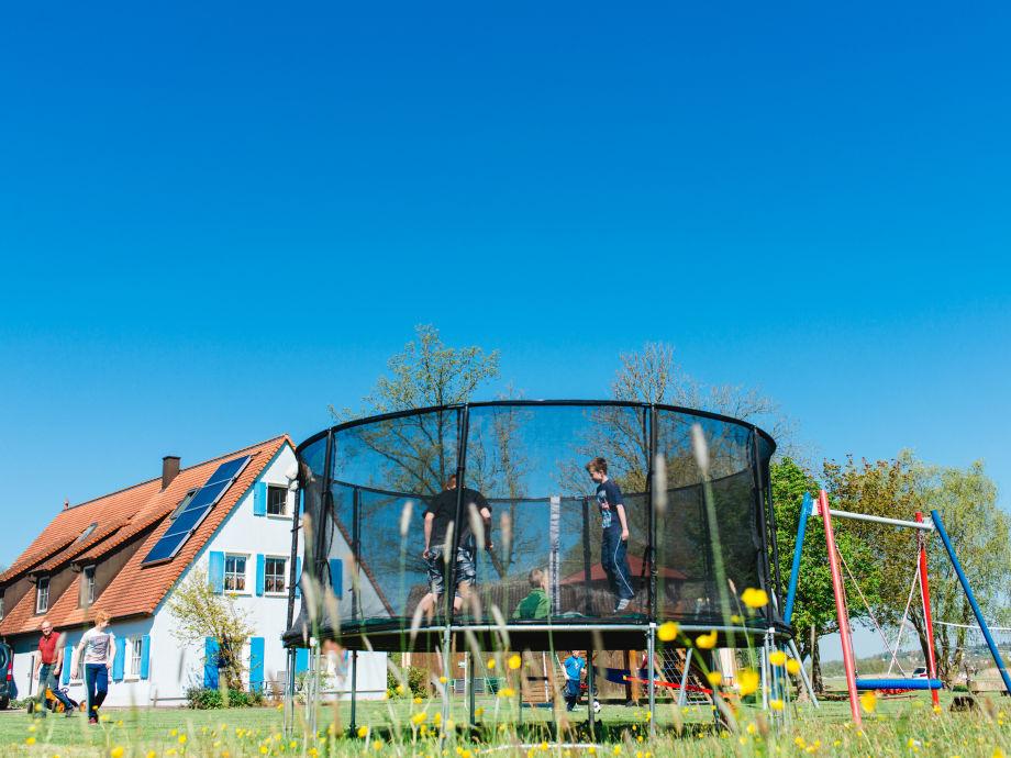 Ferienhaus mit Spielplatz