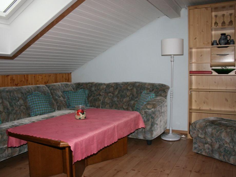 Ferienwohnung waldesblick bayerischer wald frau ilse for Sitzecke wohnzimmer