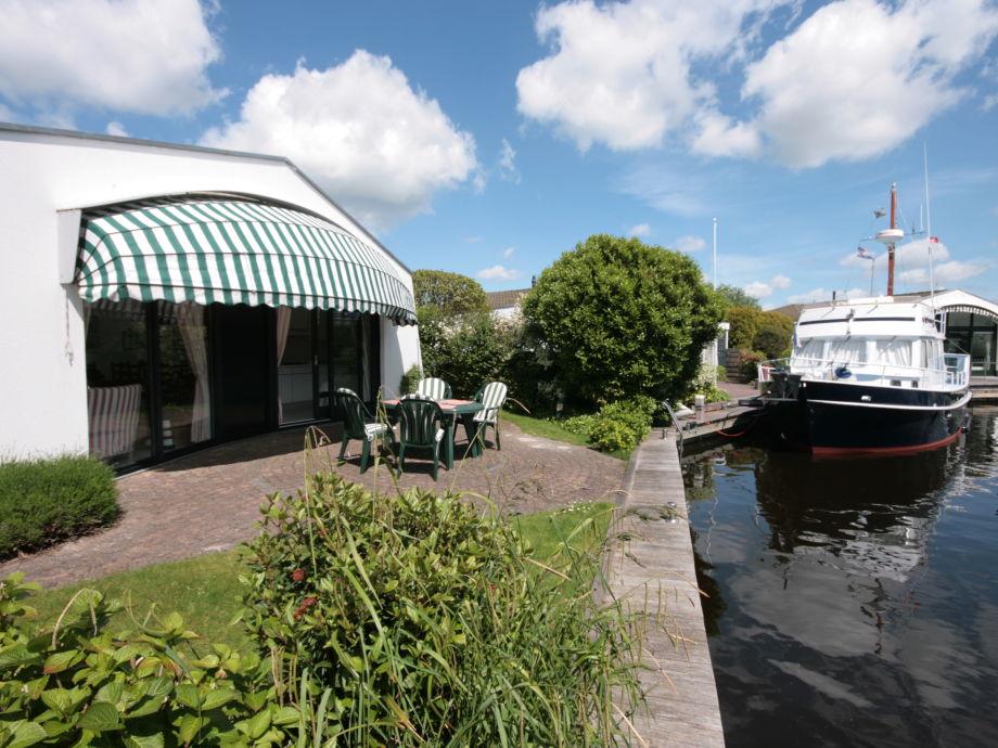 Bungalow mit Südlage und Bootssteg