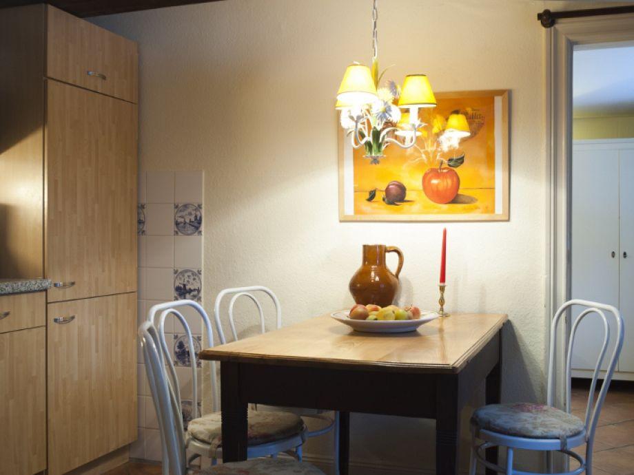 Der Sitzplatz in der Küche