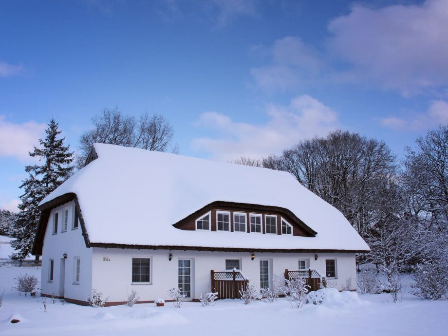 Ja, es gibt auch Winter bei uns mit mit viel Schnee.