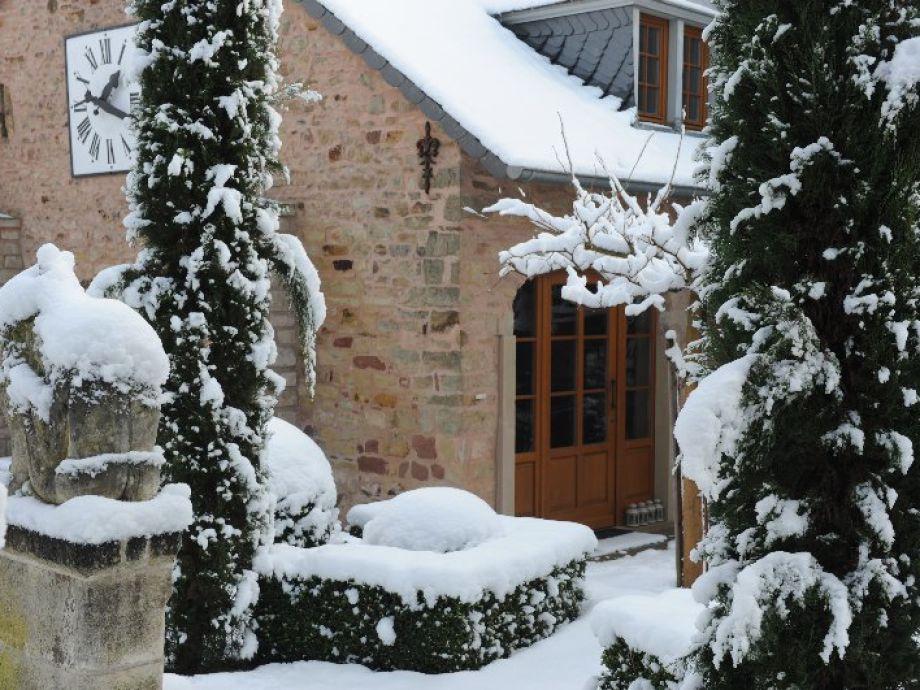 Winter auf dem Weingut GiwerGreif
