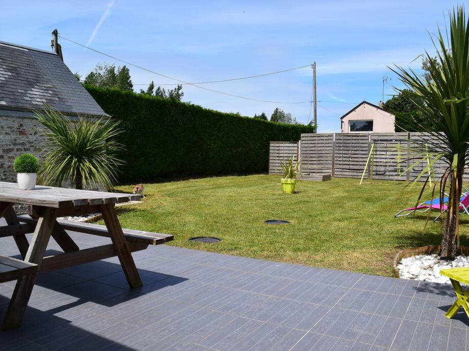 Cottage la cale family fanny et loic debreuilly - Cottage garten terrasse ...