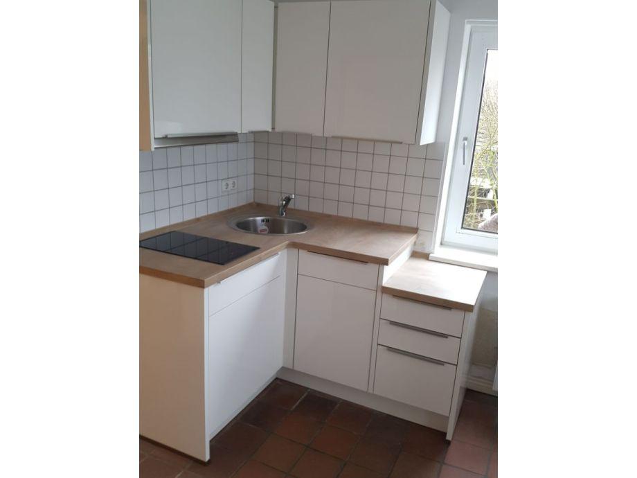Neue Küche mit kleiner Spülmaschine