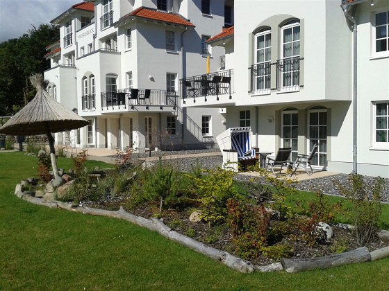 Ferienwohnung mit Südterrasse im Haus Meeresblick Ostsee