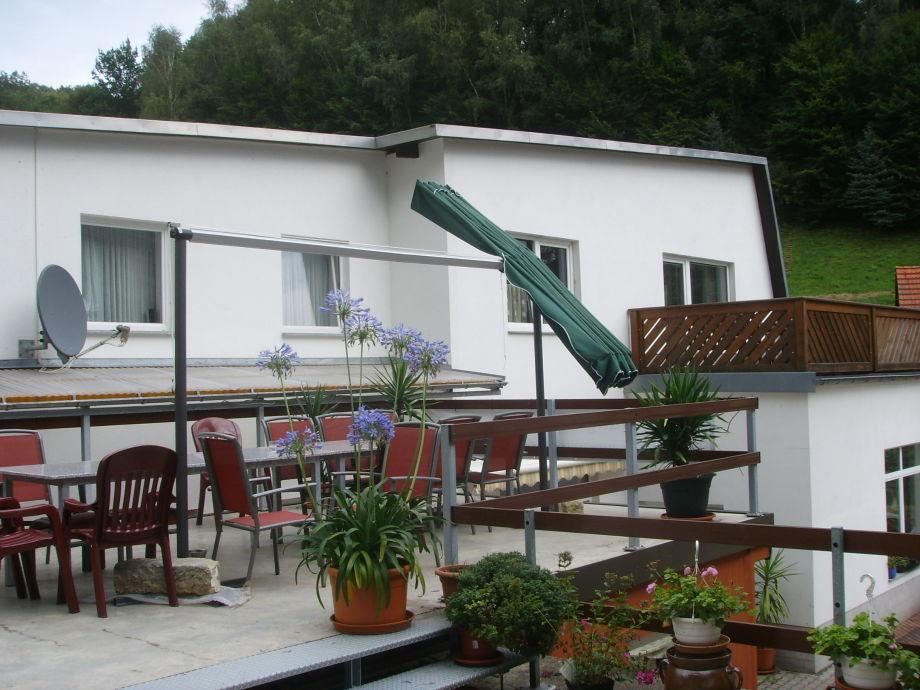 Terrasse für 20 Personen