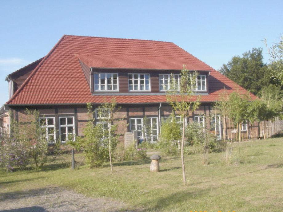 Das schöne Fachwerkhaus mit dem großzügigen Garten
