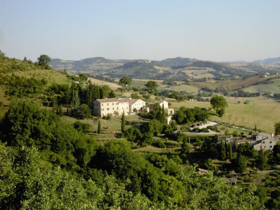 Blick auf Borgo Belfiore