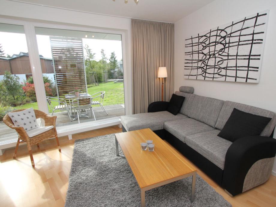 Couchbereich im Wohnzimmer