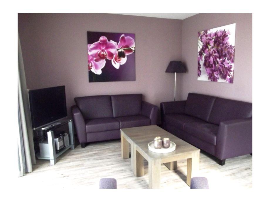 Das stilvoll eingerichtete Wohnzimmer