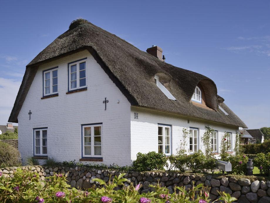 Außenansicht Ferienhaus Senhoog Westerland