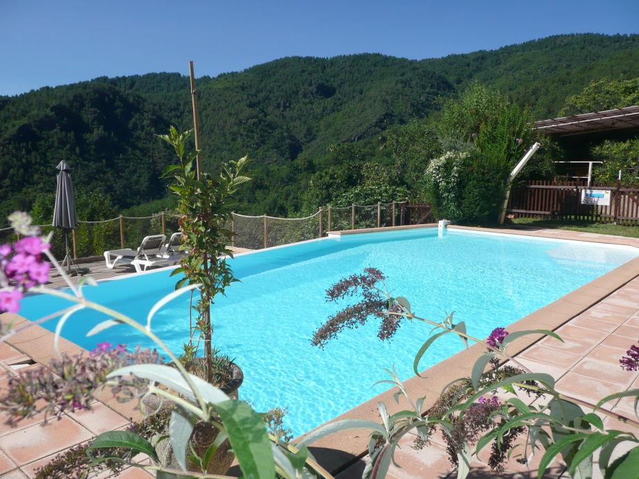 Wonderful Pool Mit Blick über Die Cevennen