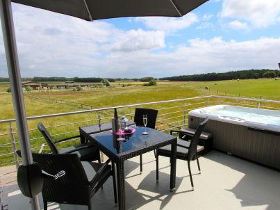 Villa Alba - Luxus OG-Ferienwohnung