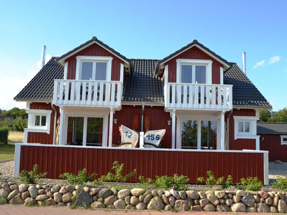 Die rechte Seite vom Schwedenhaus