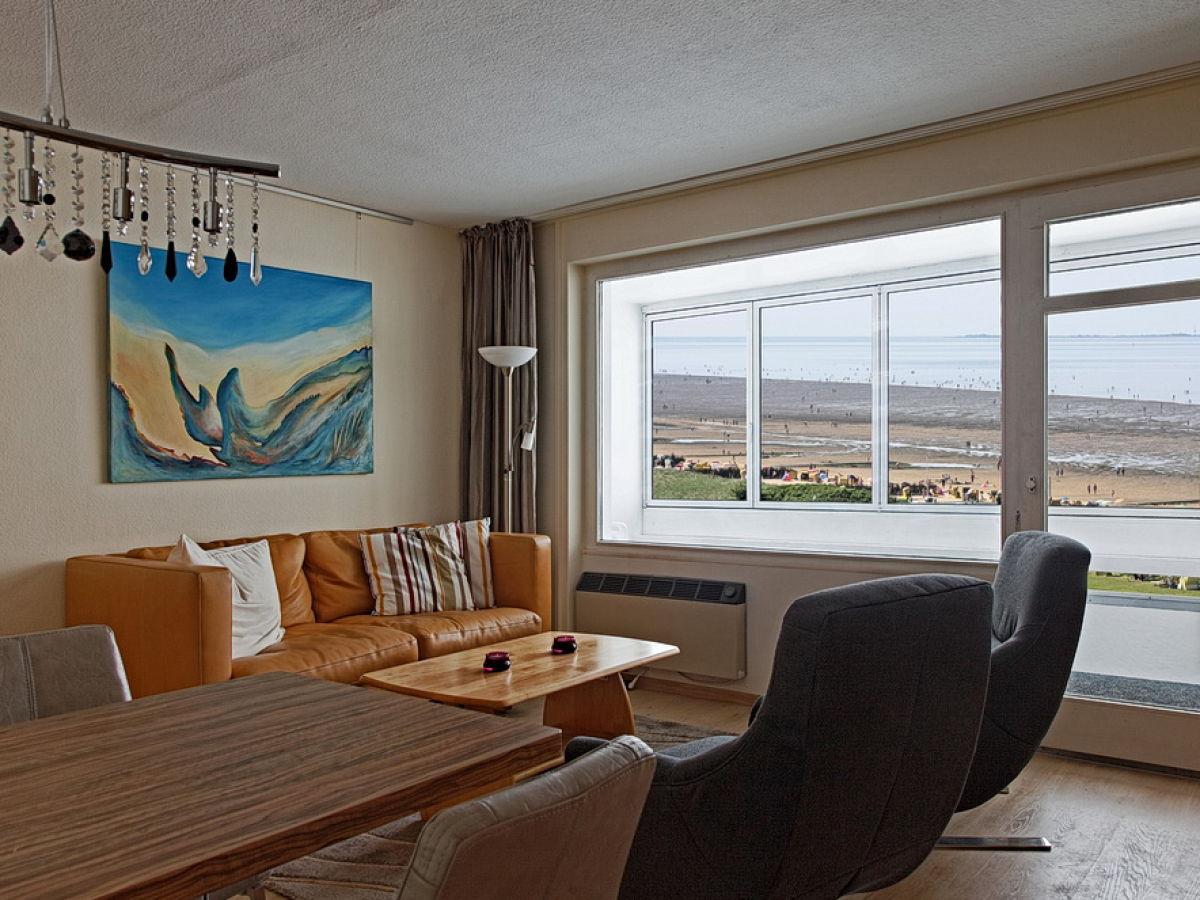 Ferienwohnung Haus Atlantic Cuxhaven 3 Döse Frau Erika