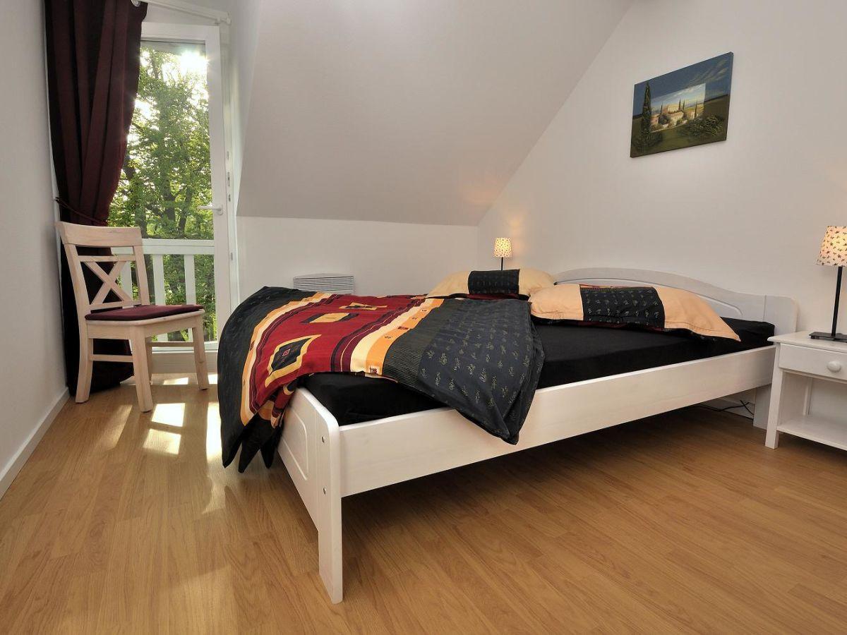Ferienwohnung strandpark 14 3n graal m ritz familie - Panoramabild schlafzimmer ...