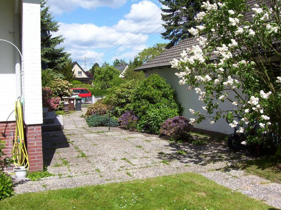 Ansicht vom Garten aus